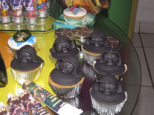 Cupcake Darth Vader Star Wars