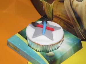 Cupcake Sabre de Luz Star Wars